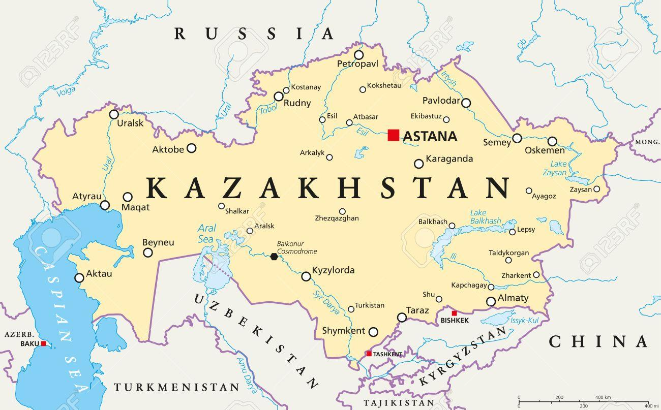 Astana Kazahsztan Terkep Terkep Astana Kazahsztan Kozep Azsia