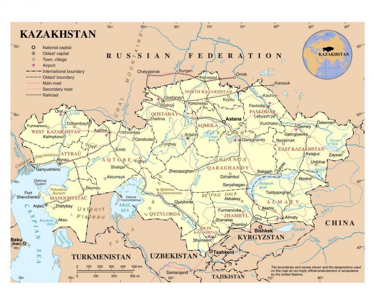 Kazahsztan Repuloterek Terkep Terkep Kazahsztan Repuloterek
